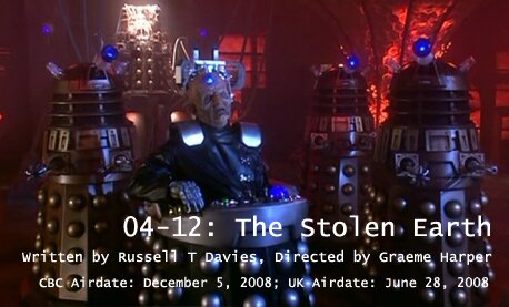 TARDIS File 04-12: The Stolen Earth