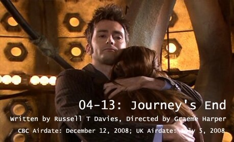 TARDIS File 04-13: Journey's End
