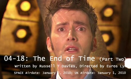 TARDIS File 04-18: The End of Time, Part Two
