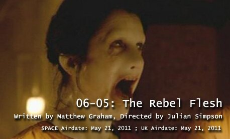 TARDIS File 06-05: The Rebel Flesh